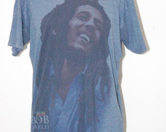 Bob Marley Vintage Style T Shirt