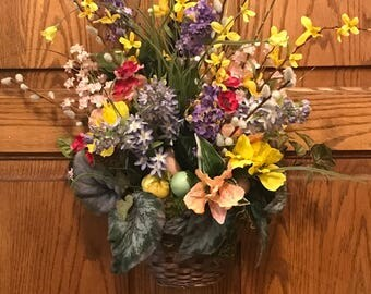 Cheerful Spring Basket