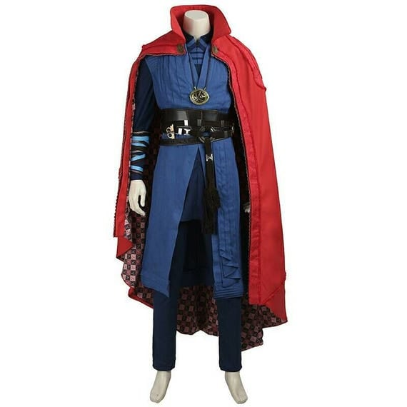 Doctor strange marvel cosplay costume every size full set