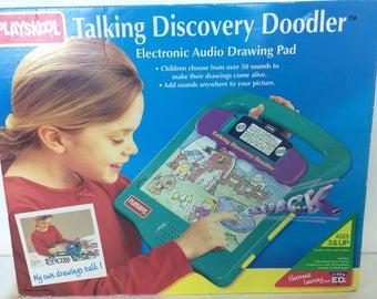 Vintage 1995 Playskool Talking Discovery Doodler, New in Box