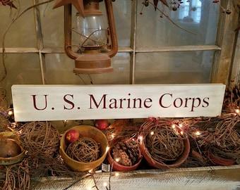 US Marine Corps sign