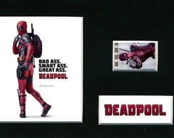 Deadpool Replica Mounted 35mm Film Cell Display Ver A