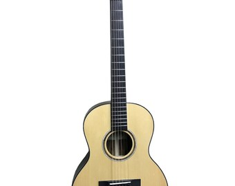 Edney Acoustic Parlor Guitar Style 1 #009 Free Shipping!