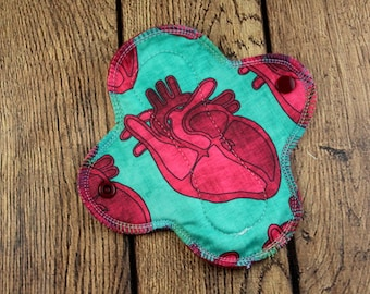 Cloth Menstrual Pad - Reusable Menstrual pad - Reusable Cloth Pads - Light Absorbency - Mama Cloth - Sanitary Pads - Period Pads - Moon Pads