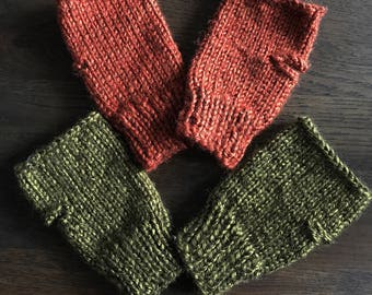 Toddler fingerless gloves other colors available