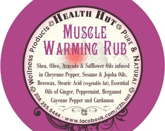 Muscle Warming Rub