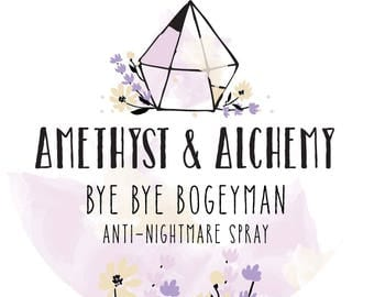 Bye Bye Bogeyman Anti-Nightmare Spray, Sandalwood & Mandarin Essential Oils, No Alcohol, All Natural