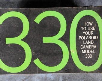 Polaroid 330 Land Camera Instruction Manual