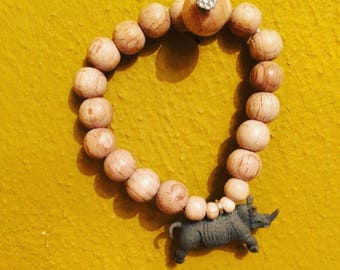 Tough guys or girls Rhino bracelet