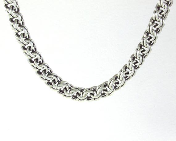 mens massive jewelry mens silver necklace big silver