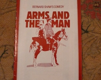 George Bernard Shaw, Arms and the Man theatre programme, 1982