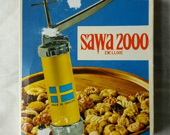SAWA  2000 Cookie Press Kit from Sweden