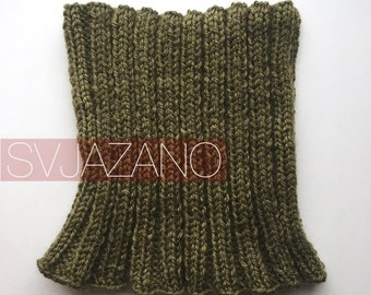 Knitted collar Green Summer/Collar Green summer/Gate unisex Green summer