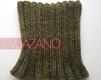 Knitted collar Green Summer/Collar Green summer/Gate unisex Green summer