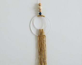 Macramé wall hanging - modern DreamCatcher / Dreamcatcher / wall hanging