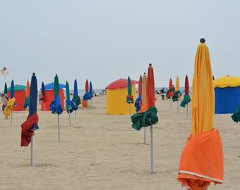 Deauville Beach, Normandy