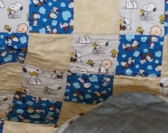 Charlie Brown Toddler Quilt