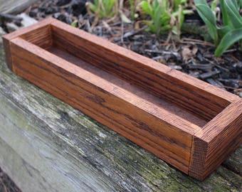 Window box, herb garden, planter, indoor/outdoor planter, center piece, wedding center piece, wedding, Rustic decor