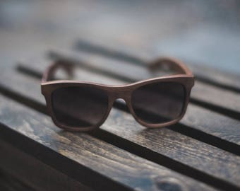 Balboa: Polarized Wooden Sunglasses