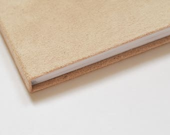 Beige soft book