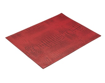 Crock Embossed Set/4 Reversible Placemats