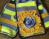 RESERVED Sunflower Farms Scarf