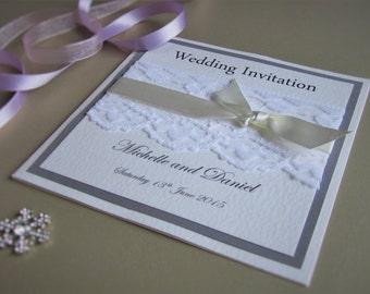 Pocketfold Wedding Invitation Madeleine - SAMPLE