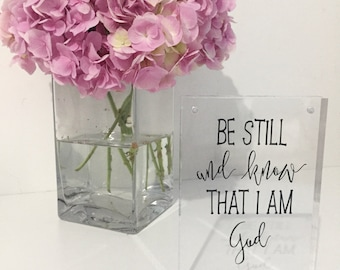 Acrylic Block Bible Verse