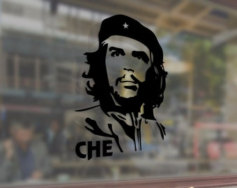 Che Guevara Classic Revolution Art Vinyl Stickers Funny Decals Bumper Car Auto Computer Laptop Wall Window Glass Skateboard Snowboard Helmet