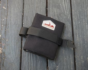 Bicycle Tool Roll for Saddle Rails - Black