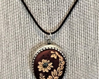 Pendant and matching statement ring