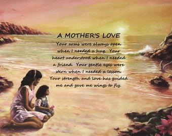 Mother love poem | Etsy