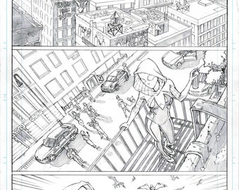 SpiderGwen page 1