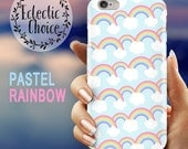 Mini pastel rainbows iPhone 6s case iPhone 7 Plus case iPhone 6 case 5s 5c kawaii case