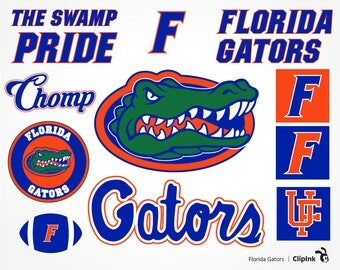 Florida Gators svg, Gators clipart, Florida svg, Florida clipart, digital – svg, eps, png, dxf, pdf. Decor Die Cut Print Mug Shirt Decal.