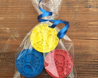 Spiderman Crayon Party Favors (10+ bags)- Spiderman birthday- Superhero birthday