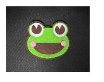 Felt Frog Applique