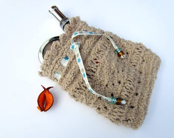Cover, toilet to beige Knitting kit