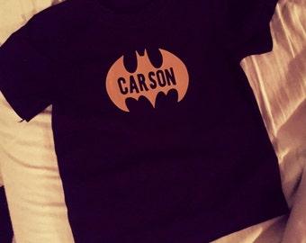 Personalized Batman Birthday Shirt - Children and Adult