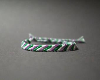 GenderQueer Pride Friendship Bracelet