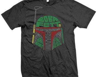 Star Wars Boba Fett Helmet Tshirt