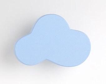 Furniture knob cloud - furniture handles, furniture for children's room
