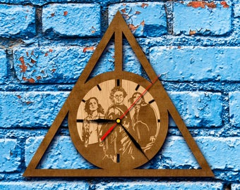 Deathly Hallows Clock harry potter always sign Harry Potter deathly hallows art deathly hallows charm decal horcrux ron weasley Harry Potter