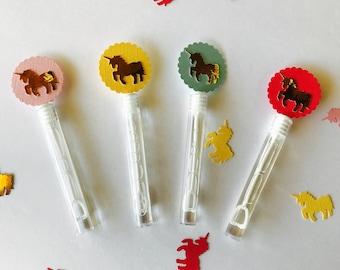Unicorn Favors, Bubble Favors,
