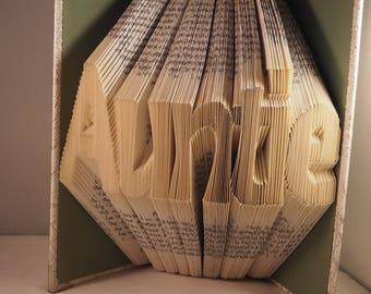 PATTERN: Auntie Book Fold Pattern MMF