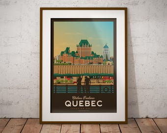 Art mural etsy for Deco murale quebec