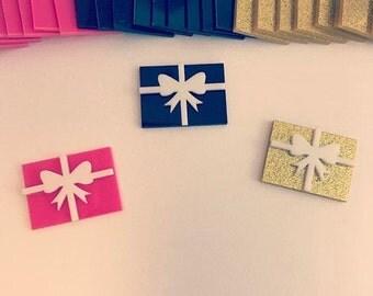 Laser cut acrylic gift box