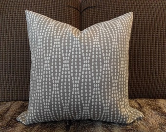 Waves of Dots Pillow Cover