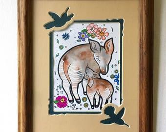 Nursing Okapi