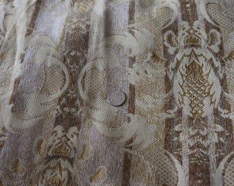 17 Beautiful gold patterned upholstery fabric